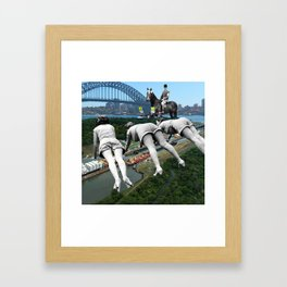 Bridge Contest ... Framed Art Print