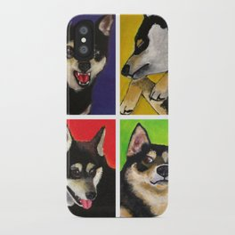 Shiba Inu Pop Art iPhone Case