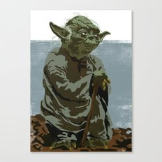 There is no try. Canvas Print
