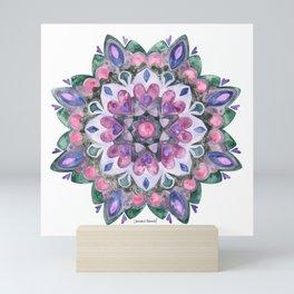 Mandala Heart Mini Art Print