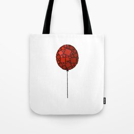 Rise Up - Little Red Balloon - Love - Children - 57 Montgomery Ave Tote Bag