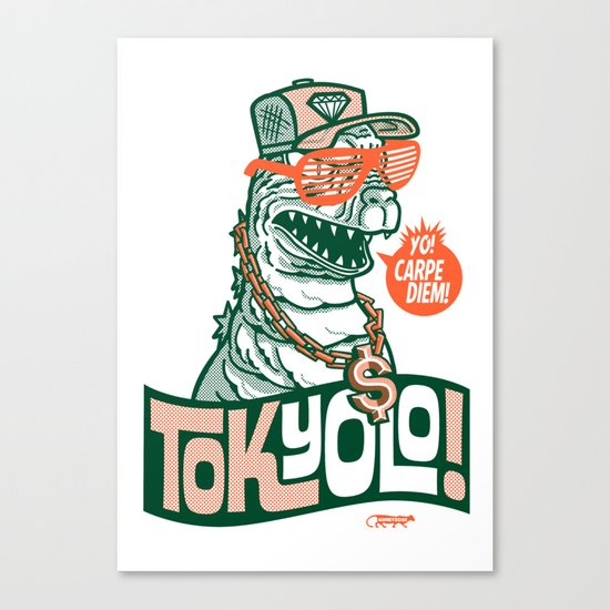 Tokyolo ($imple variant) Canvas Print
