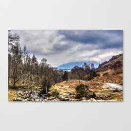 Lake District View Canvas Print