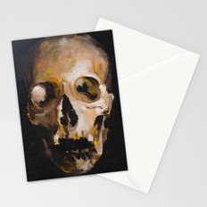 skull 9 Stationery Cards