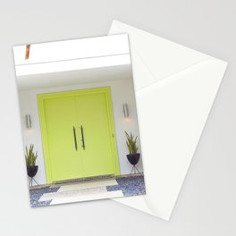 Lime Door Palm Springs Stationery Cards