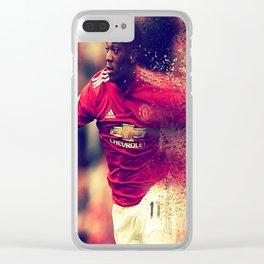 football star Clear iPhone Case