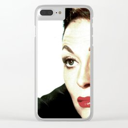 Mommie Dearest Clear iPhone Case