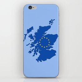 Scotland in EU iPhone Skin