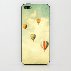 Drifting Balloons iPhone & iPod Skin