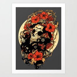 Mors/Venustas Art Print