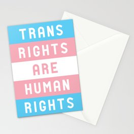 Trans Rights are Human Rights Stationery Cards