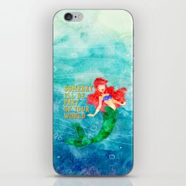Part of Your World iPhone Skin