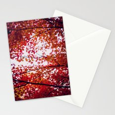 up in the trees you'll find peace Stationery Cards