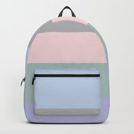 Contemporary Stripes Pattern Backpack