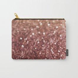 Cafe Au Lait Glitter #1 #shiny #decor #art #society6 Carry-All Pouch