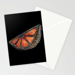 orange slice Stationery Cards