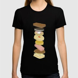 biscui - biscuit pattern T-shirt