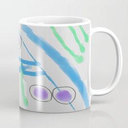 Funky Abstract Digital Painting Coffee Mug