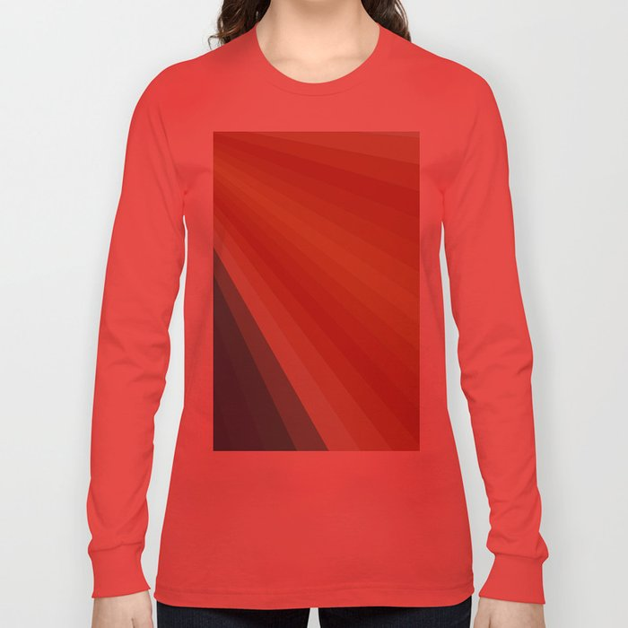 Retro 70s Sunrays Long Sleeve T-shirt