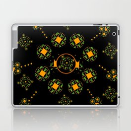 Orange and Green Spaces 115 Laptop & iPad Skin