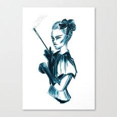 Bubble Goth Canvas Print