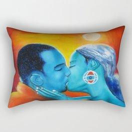 Love Kiss Rectangular Pillow