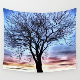 The Lovely Tree Wall Tapestry