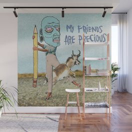 PRECIOUS FRIENDZ Wall Mural