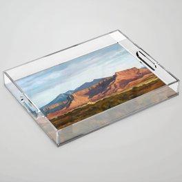 Moab Summer Evening Acrylic Tray