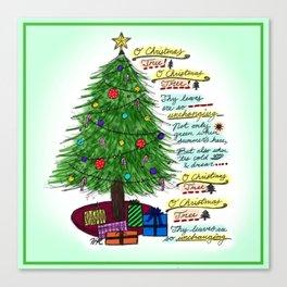 O' Christmas Tree Canvas Print