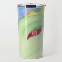 Bright Dragon in pastels Travel Mug