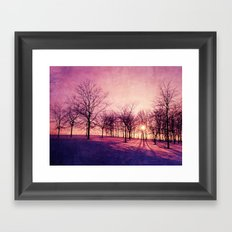 Before The Night Framed Art Print