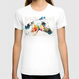 Colorful Horse Art - Wild Paint - By Sharon Cummings T-shirt