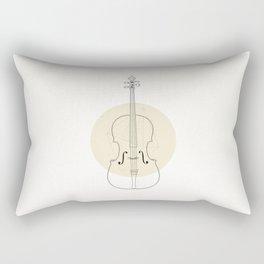 Cello II Rectangular Pillow