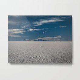 Mount Tunupa in Salar de Uyuni, Bolivia Metal Print