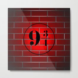 peron brick wall Metal Print