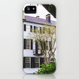 Rainbow Row in Charleston, SC iPhone Case