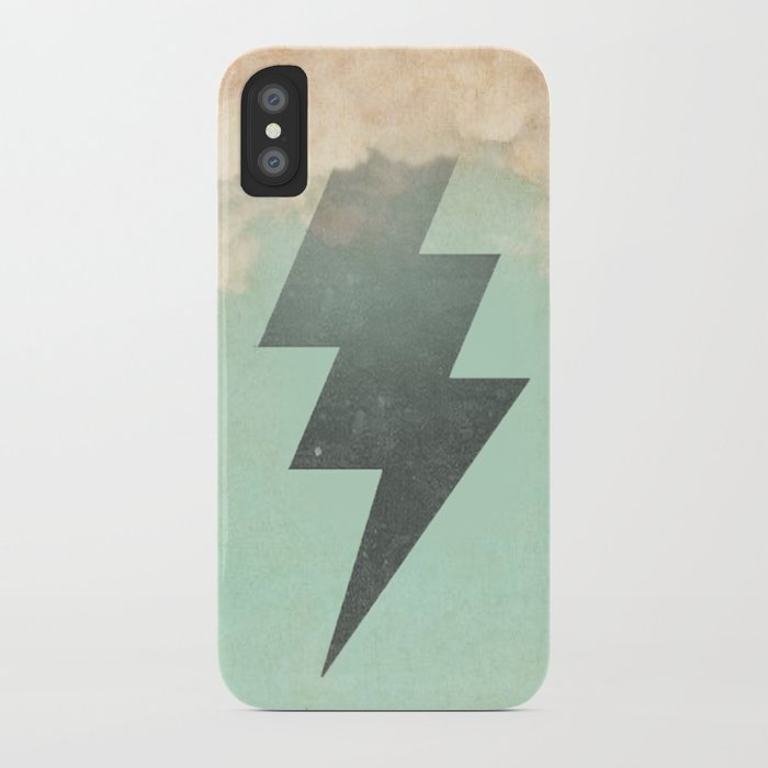 Bolt from the Blue iPhone Case