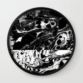 Marble Reverse Wall Clock