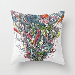 grigri Throw Pillow