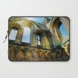 Glastonbury Abbey  Laptop Sleeve