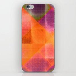 CHECKED DESIGN II-v8 iPhone Skin