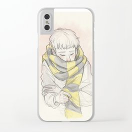 Credence - Cozy Clear iPhone Case