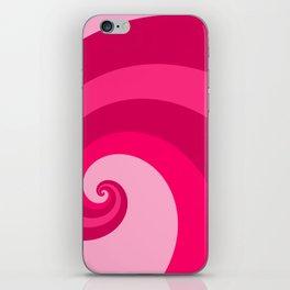 pink wave iPhone Skin