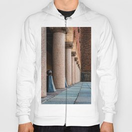 Colonnade in the Town Hall of Stockholm. Color Hoody