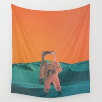 houston Wall Tapestries featuring Houston Whats Your Problem? by @slimesunday