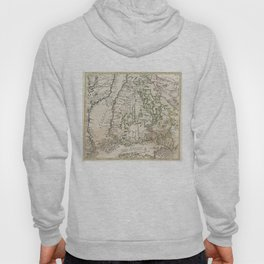 Vintage Map of Finland (1740s) Hoody
