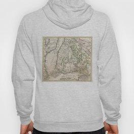Vintage Map of Finland (1740s) Hoody