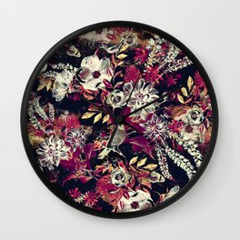 Space Garden II Wall Clock