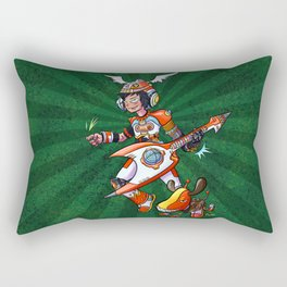 Gitaroo Man Rectangular Pillow